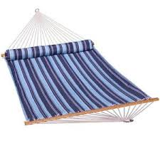 13 ft olefin quilted hammock in red qhdred the home depot