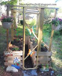 what a great garden bed for kids that is their own space and also