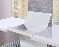 white high gloss table buy mark harris hayden white high gloss dining table 160cm
