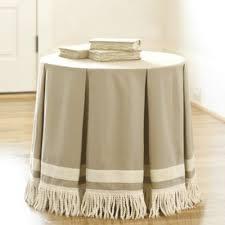24 round decorator table 24 inch round pleated terrific trio with bullion fringe living