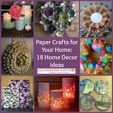 paper craft home decor home decor craft ideascraft ideas for home decor images of home