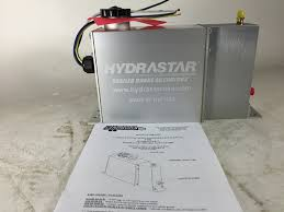hydrastar electric over hydraulic trailer brake actuator hba16