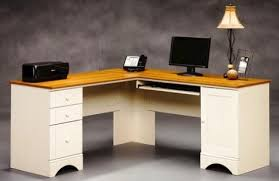 Sauder Harbor View Corner Computer Desk Antiqued White Finish Corner Computer Desk With Hutch For Home Brilliant Sauder Designs
