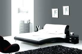 chambre noir et blanche chambre noir blanc lit noir et blanc on decoration d interieur