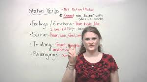 english grammar stative verbs youtube