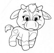 printable 14 printable baby animal coloring pages 10372 baby cow