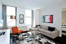 Rental Apartment Decorating Ideas Modern Living Room Residential Apartment Furniture Design