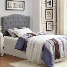 grace twin 39 inch fabric tufted headboard only free shipping