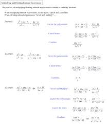Simplifying Radicals Worksheet Algebra 1 Rational Expressions Equations Calculator Jennarocca