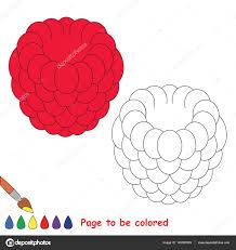 kid game educational page to be colored u2014 stock vector 145587833