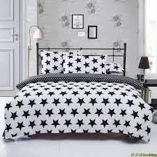 Dinosaur Double Duvet New Black White Star King Queen Full Size Single Double Bedding