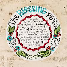 it s your special day plate haus the blessing plate