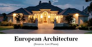european style homes modern european house plans photos