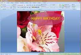 happy birthday cards best word make a birthday card in word etame mibawa co