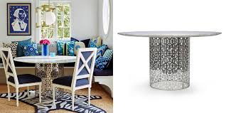 brushed nickel dining table gorgeous dining table archives porus studio