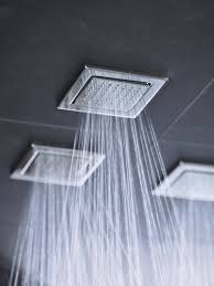 spray nozzles provide a soothing water experience http