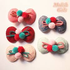 felt hair accessories 20pcs lot new bow soft knot hairbands bestseller cotton