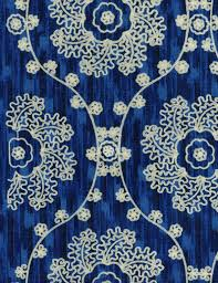 Iman Home Decor Home Decor Print Fabric Iman Mythical Medallion Lapis Curtains