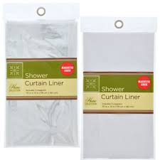 Shower Curtain Liners Bulk The Home Collection Shower Curtain Liners 70x72 In At