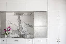 kitchen design ottawa a white washed u0026 caluctta marble kitchen design in ottawa canada