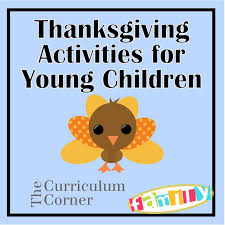 thanksgiving thankful activities for preschool pre k and other