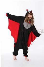 Halloween Cat Costumes Women Halloween Black Bat Onesie Kigurumi Christmas