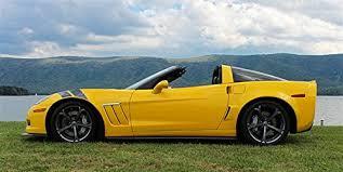 corvette c6 grand sport amazon com chevy corvette c6 grand sport left side yellow hd