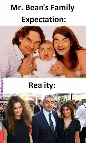 Mr Bean Memes - funny jokes about mr bean expectations vs reality expectations