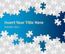 Free Puzzle Pieces Powerpoint Template Free Powerpoint Templates Puzzle Powerpoint Template Free