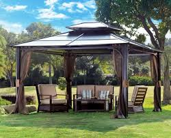 Patio Canopies And Gazebos 20 Beautiful Yards With Outdoor Canopy Designs Patio Gazebo