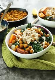 sweet potato chickpea buddha bowl minimalist baker recipes