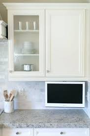 Best Small Kitchen Uk In Elegant Small Tv For Kitchen Collect This Idea Studio Kitchen For