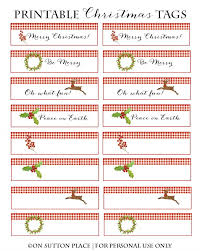 free printable christmas place cards gift tags on sutton place