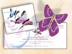 faire part mariage papillon papillon magique volant magic flyer faire part scrapbooking mariage
