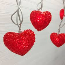 valentines day lights loving hearts party string lights s day string lights