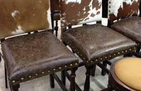 Cowhide Dining Room Chairs Furniture Cowhide Dining Chairs Stunning Bar Stools And Leather