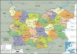 World Map Pdf by Geoatlas Countries Bulgaria Map City Illustrator Fully