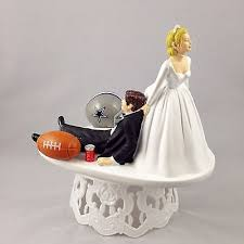 football wedding cake toppers football themed wedding cake toppers collection on ebay