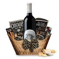 wine basket buy silver oak cabernet gift basket online wine gift
