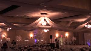 Cheap Banquet Halls Wedding Banquet Hall Before And After Transformation Youtube