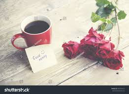 good writing paper coffee rose good morning writing on stock photo 439107913 coffee rose and good morning writing on paper