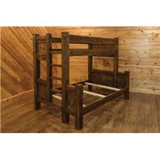 Timber Bunk Bed Barn Wood Style Bunk Bed