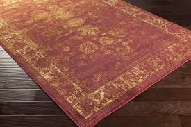 Purple And Black Area Rugs Surya Hathaway Hat 3023 Burgundy Gold Rust Beige Black Area Rug