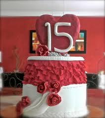 15 wedding anniversary 15th wedding anniversary cake by bizcocho pastries cakesdecor