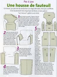 refaire housse canapé diy housse de fauteuil couture idees fauteuils
