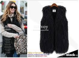Womens Military Vest Best Fashion Womens Faux Fur Vest Vintage Trend Celeb Luxury