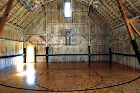 Basketball Courts With Lights Restored Camp Both Rustic And Accommodating Basketball Court