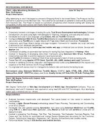 resume mobile testing resume for experienced 2 mobile testing