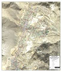 Virginia City Nevada Map by Services
