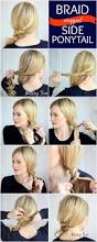 How To Do Easy Hairstyles Step By Step by Best 25 Easy Ponytail Hairstyles Ideas On Pinterest Quick Updo